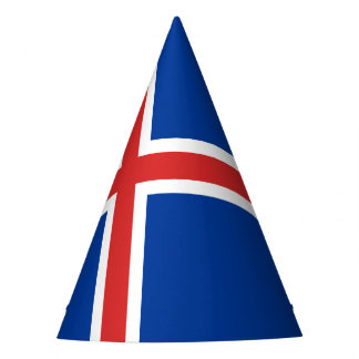 Iceland Flag Party Hat