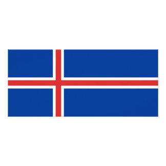 Iceland Flag Rack Card