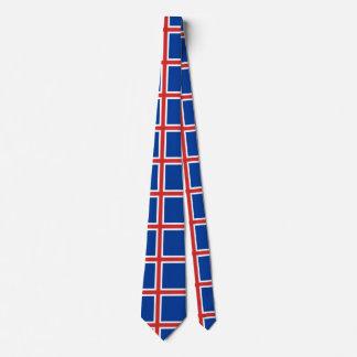 Iceland Flag Tie
