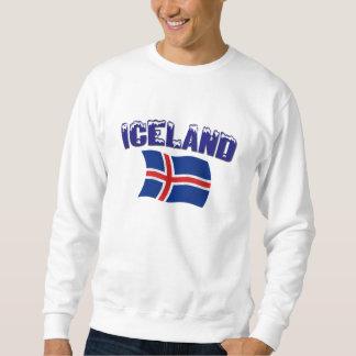 Iceland Flag (w/inscription) Sweatshirt