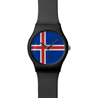 Iceland Flag Watch
