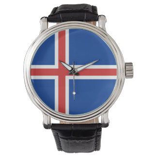 Iceland Flag Watches