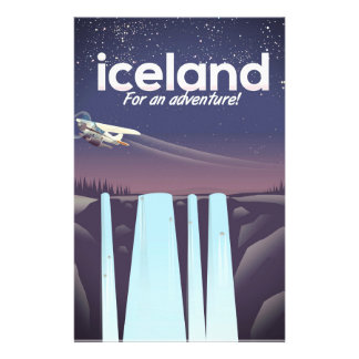 """Iceland """" For an adventure!' Stationery"""