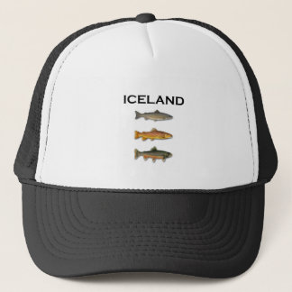 Iceland Freshwater Fishing Trucker Hat