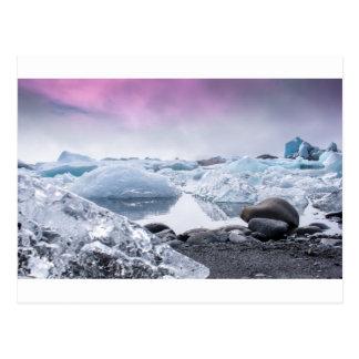 Iceland Glacier Lagoon Postcard