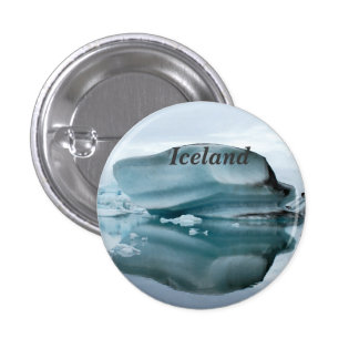 Iceland Glaciers Pinback Buttons