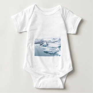 Iceland Glaciers - White Baby Bodysuit