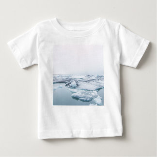 Iceland Glaciers - White Baby T-Shirt
