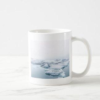 Iceland Glaciers - White Coffee Mug