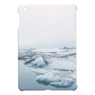 Iceland Glaciers - White Cover For The iPad Mini