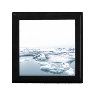 Iceland Glaciers - White Gift Box