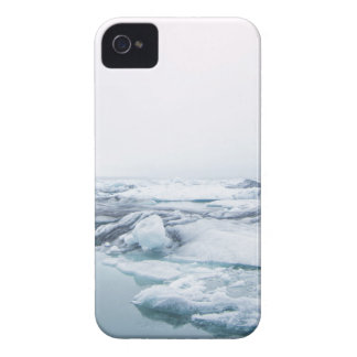 Iceland Glaciers - White iPhone 4 Case-Mate Cases