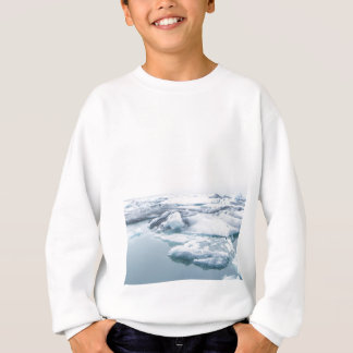 Iceland Glaciers - White Sweatshirt