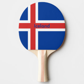 Iceland Ping-Pong Paddle