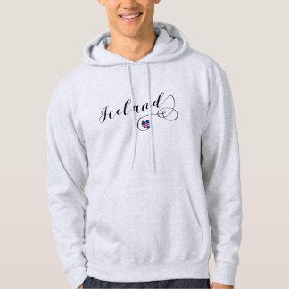 Iceland Heart Hoodie, Icelandic Hoodie