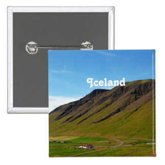 Iceland in Spring Pinback Button