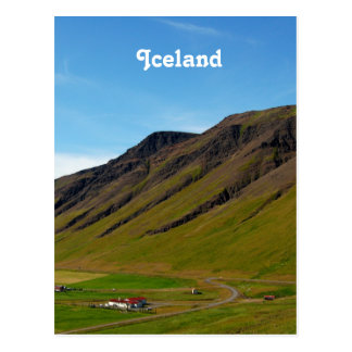 Iceland in Spring Postcard