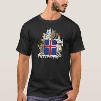Iceland IS Ísland Coat of arms T-Shirt