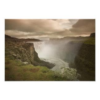 Iceland, Jokulsargljufur National Park. Photographic Print