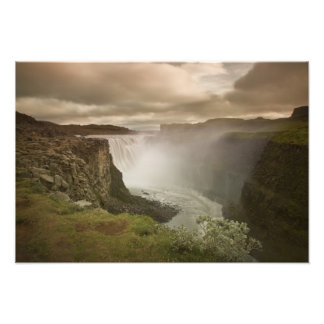 Iceland, Jokulsargljufur National Park. Photographic Print