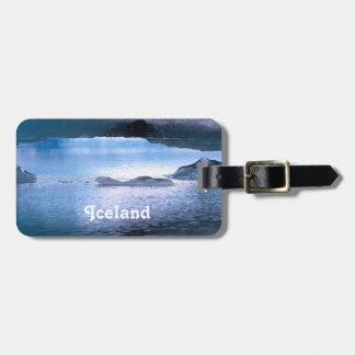Iceland Luggage Tags