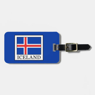 Iceland Luggage Tag