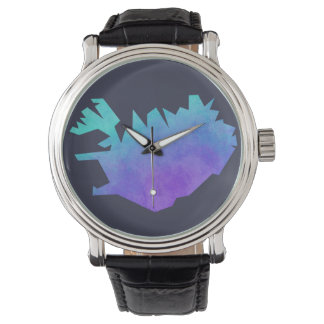 Iceland Map Wristwatches