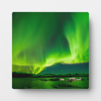 Iceland Northern Lights Plaque