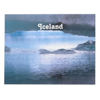 Iceland Memo Note Pad