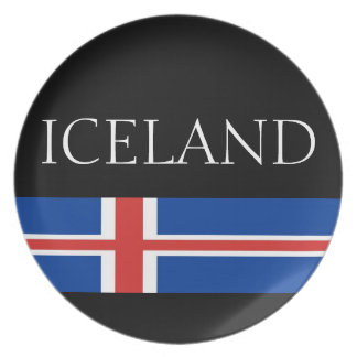 Iceland Party Plate