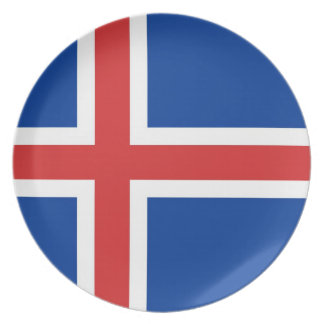 ICELAND PLATE