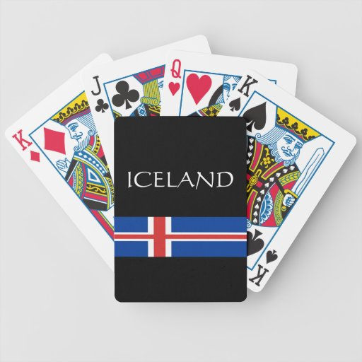 Iceland Playing Cards
