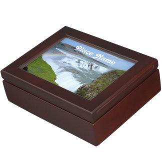 Iceland Rainbows Keepsake Box