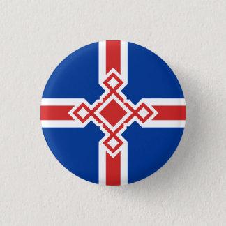 Iceland Rune Cross Badge