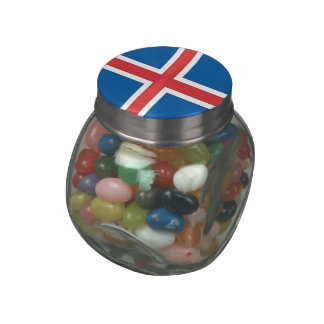 Iceland Glass Candy Jars