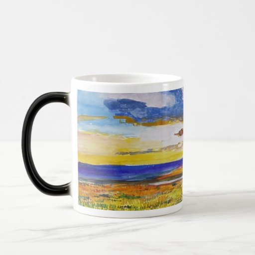 Iceland Watercolor 64th Mugs