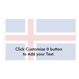 Iceland (With Dimensions), Iceland Business Card