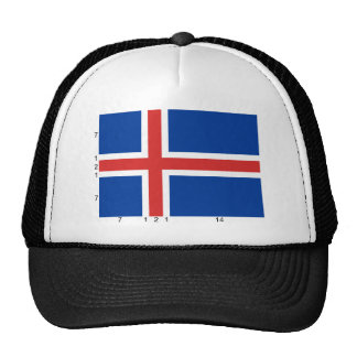 Iceland (With Dimensions), Iceland Trucker Hat