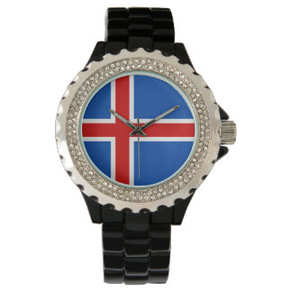 Iceland Women's Watch - The flag of Iceland