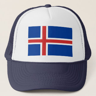 Iceland World Flag Trucker Hat