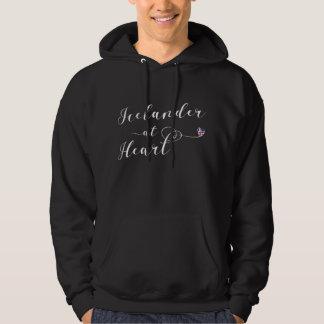 Icelander At Heart Hoodie, Iceland Hoodie