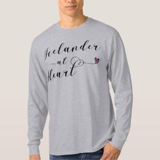 Icelander At Heart T-Shirt, Iceland T-Shirt