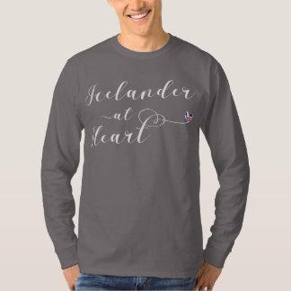 Icelander At Heart Tee Shirt, Iceland