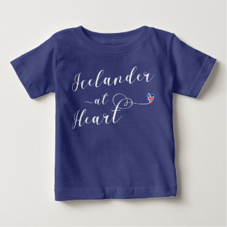 Icelander At Heart Tee Shirt, Iceland