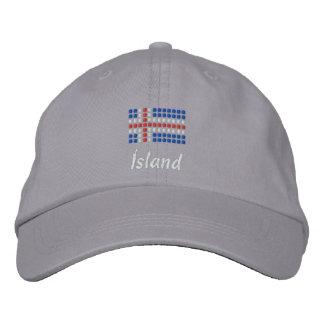 Icelandic Cap - Icelandic Flag Hat Embroidered Baseball Cap