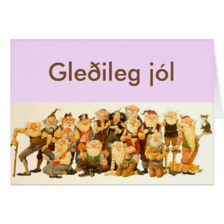 Icelandic Christmas Card
