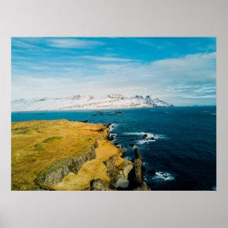Icelandic Coast Poster