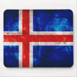 Icelandic Flag Mouse Pad