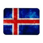 Icelandic Flag Vinyl Magnet