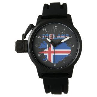 Icelandic flag watch